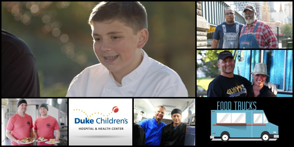 April 28 – Chef Lucas Partners with North Carolina Food Trucks to Offer 'Thank You' to Duke Children's Hospital